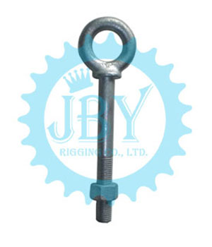3//4 X 4-1//2 Hot Dipped Galvanized Forged Shoulder Screw Eye Bolt